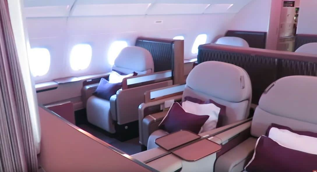 2020 review of the TOP 5 Business Class Airlines to Europe foto4