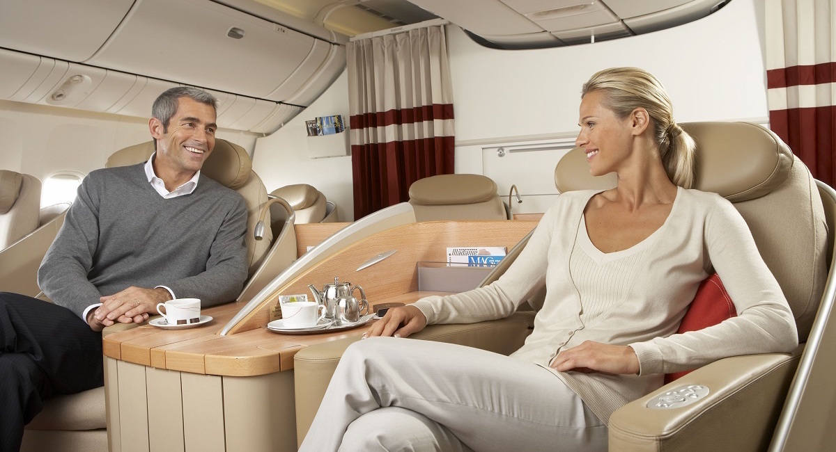 business class to Lucerne