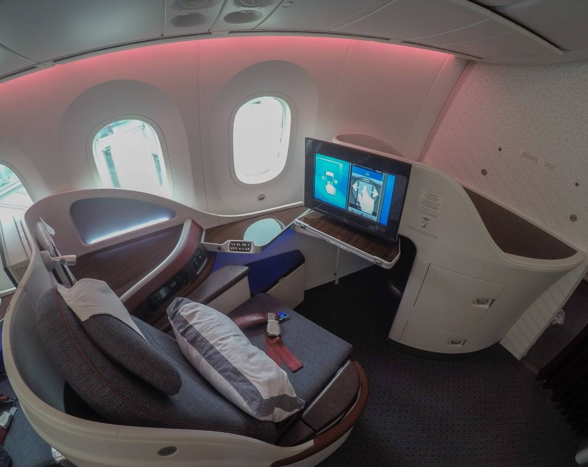 business class to Stockholm