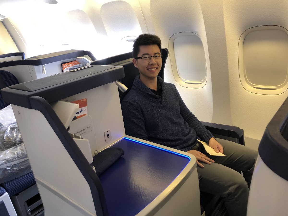 business class to Tokyo