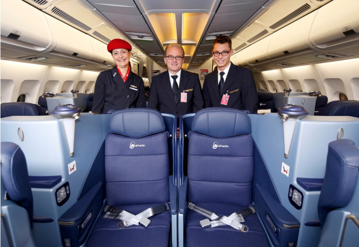 business class to Berlin