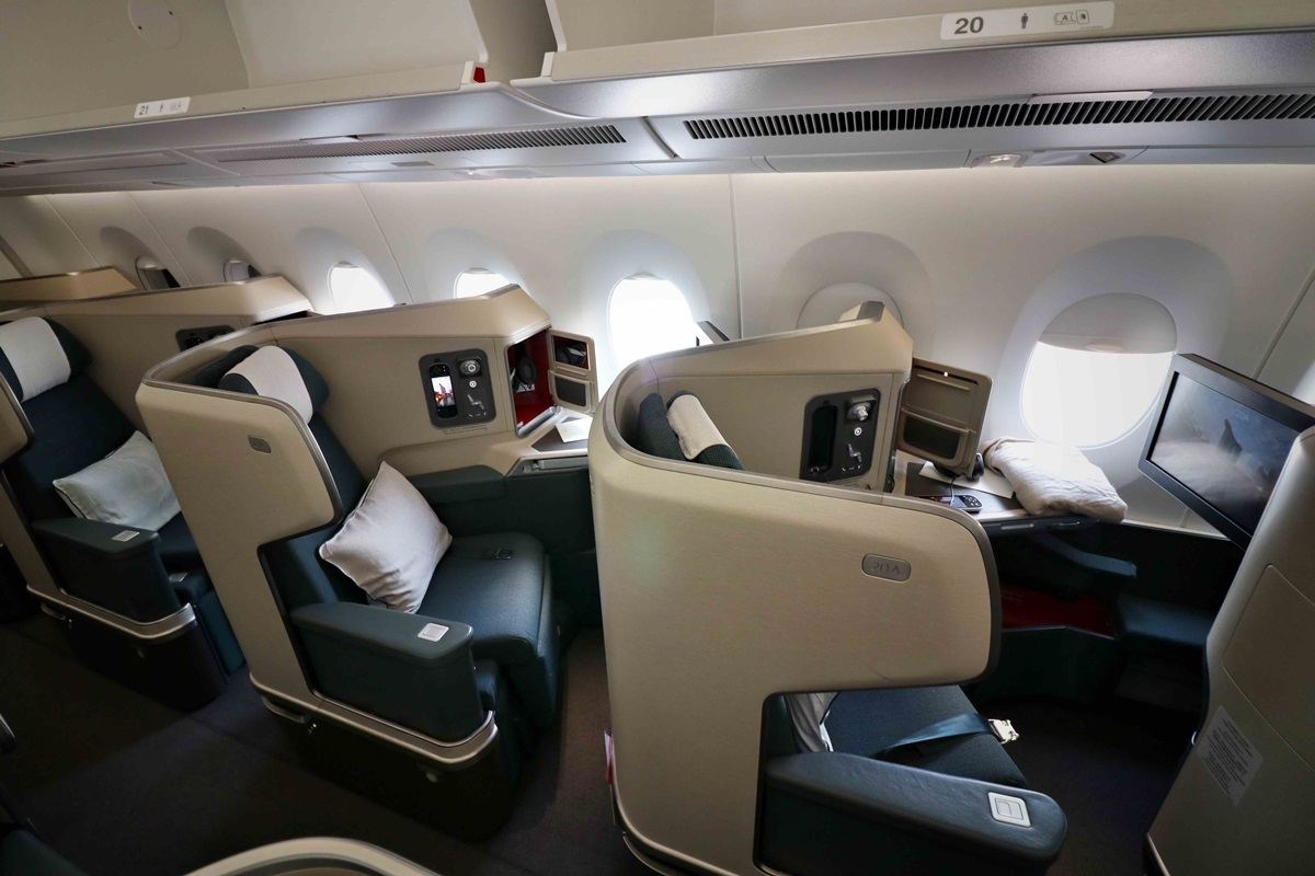 business class to Perth
