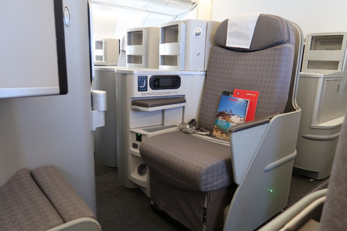 business class to Spain