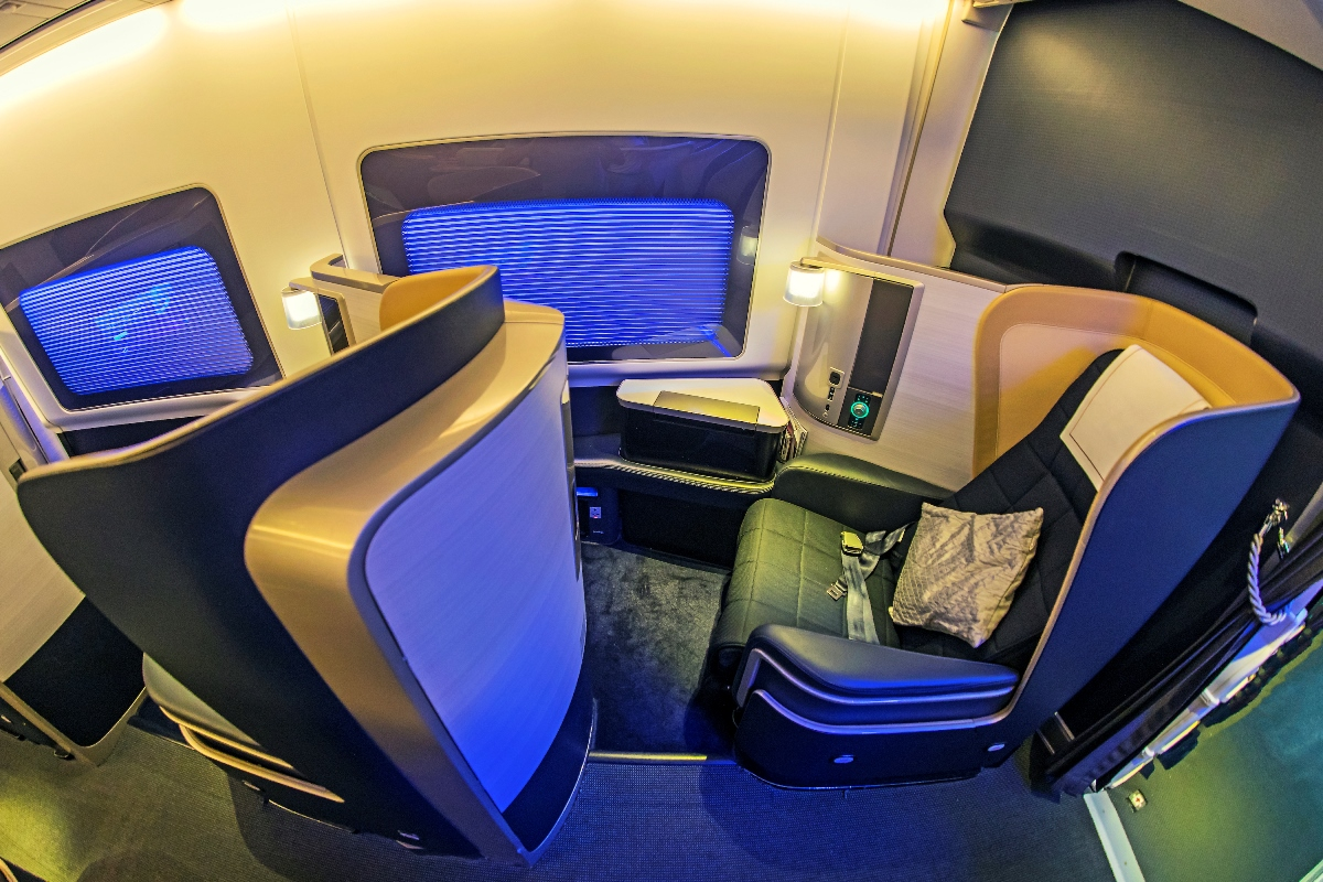 business class to Sweden